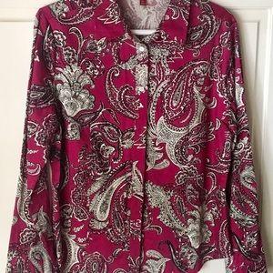 Tops - Women's Talbots blouse size 12p